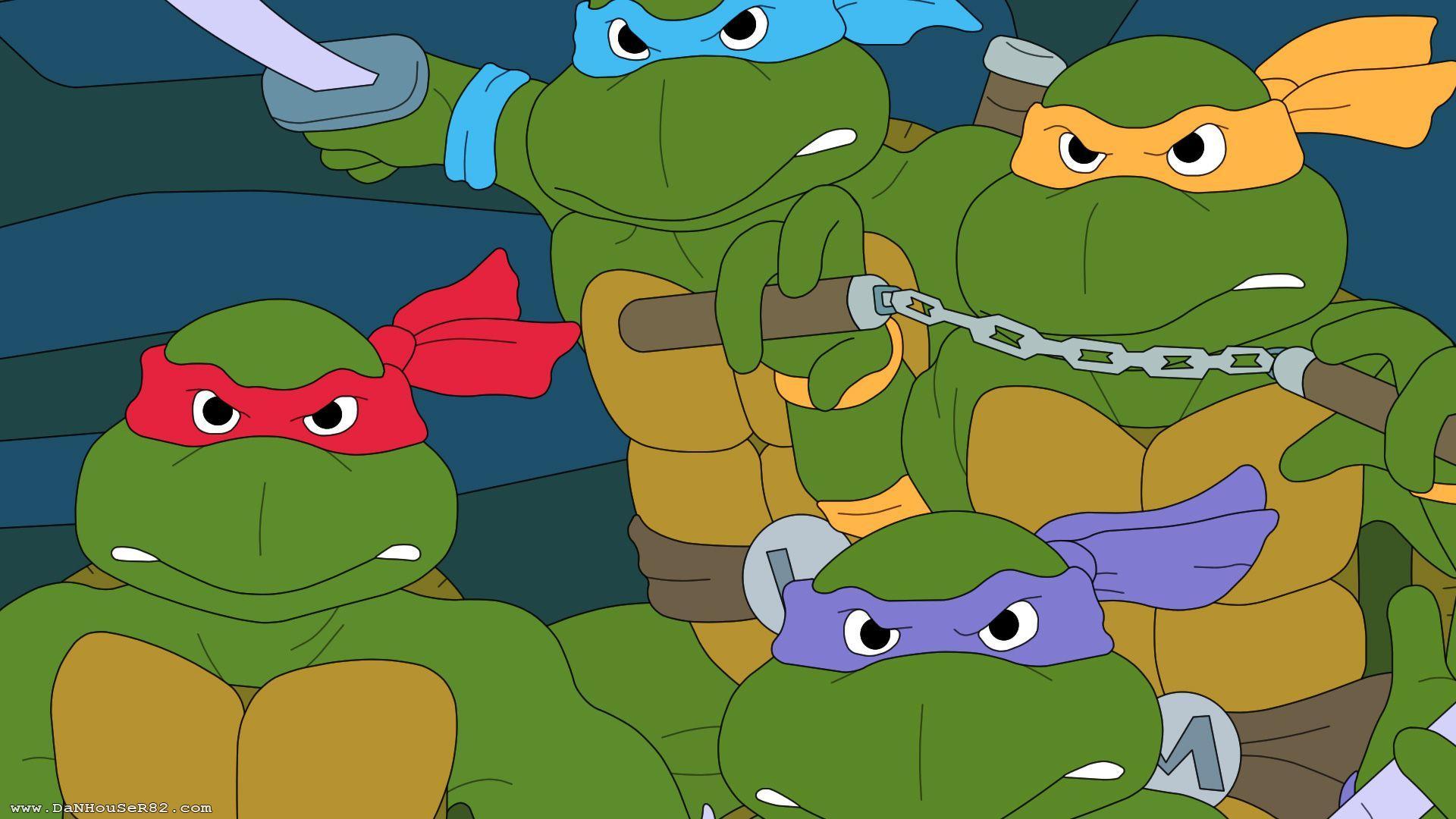 1980s Teenage Mutant Ninja Turtles Wallpapers Top Free 1980s