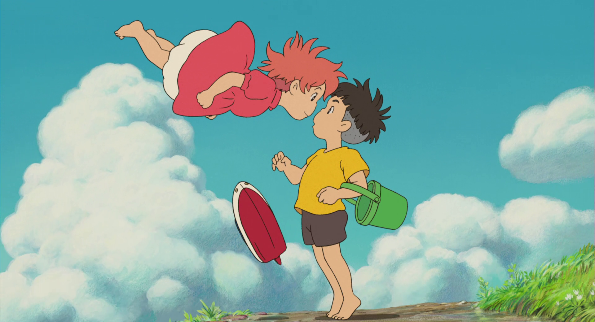 Studio Ghibli Ponyo Wallpapers Top Free Studio Ghibli Ponyo Backgrounds Wallpaperaccess