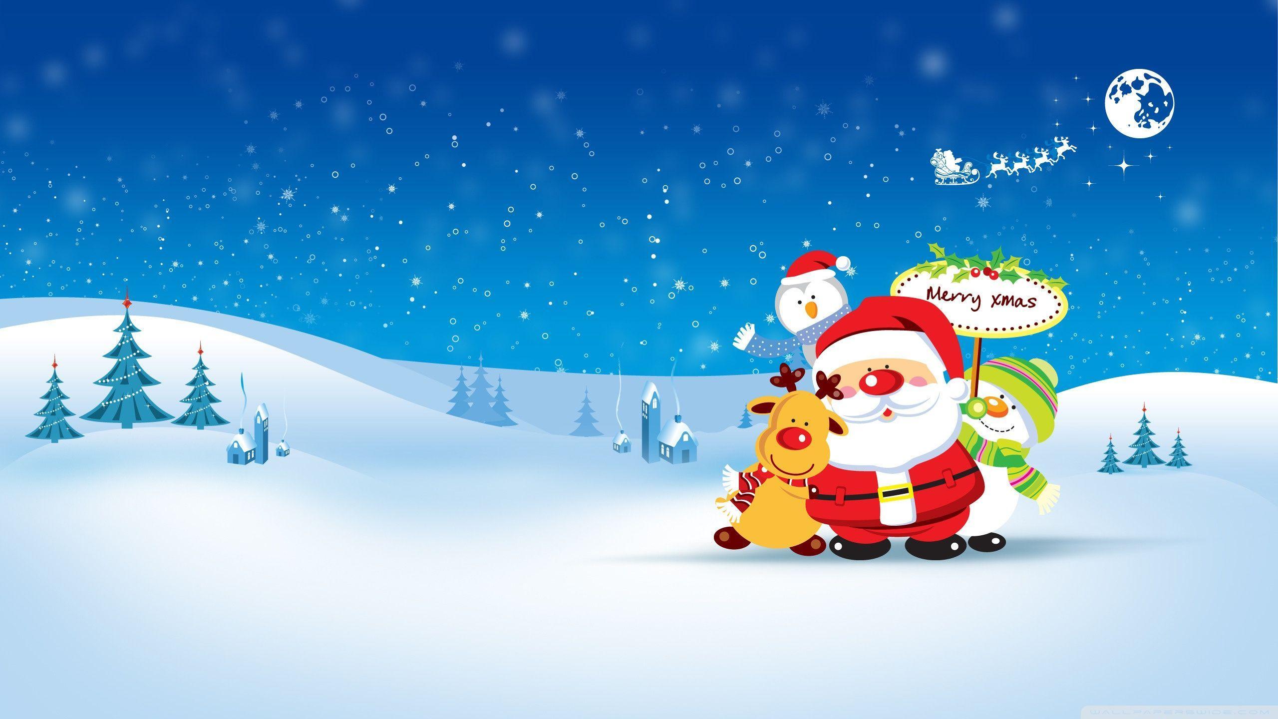High Resolution Christmas Desktop Wallpapers Top Free High