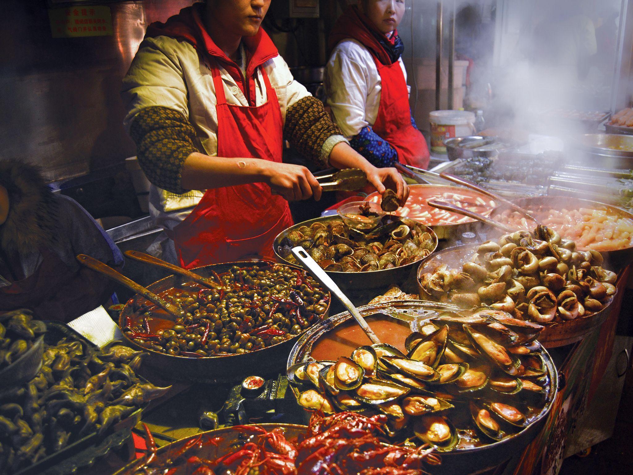 Street Food Wallpapers - Top Free Street Food Backgrounds