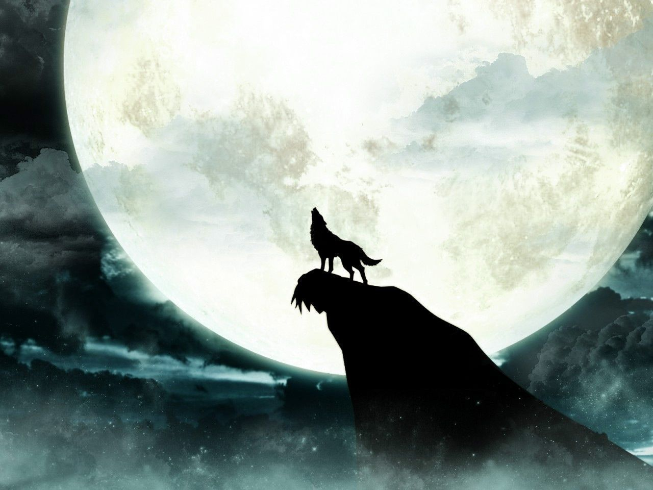 The Lone Wolf Howling at Moon Wallpapers   Top Free The Lone Wolf ...