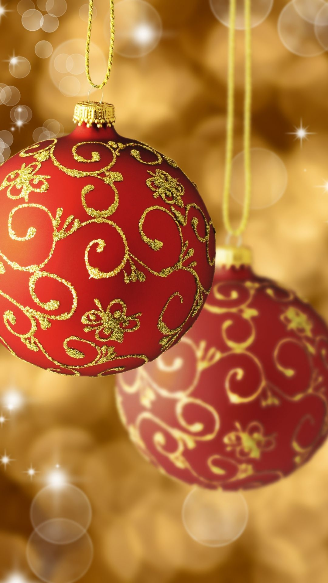 Red And Gold Christmas Wallpapers Top Free Red And Gold Christmas Backgrounds Wallpaperaccess