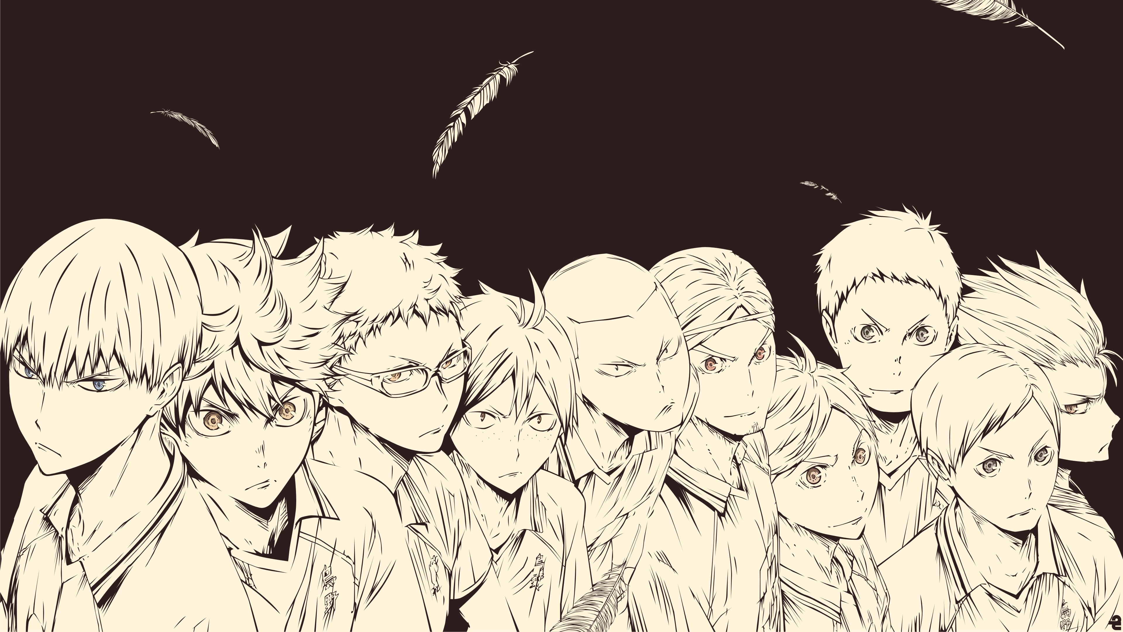 Hình nền 3840x2160 Haikyuu Karasuno - Hình nền Anime HD