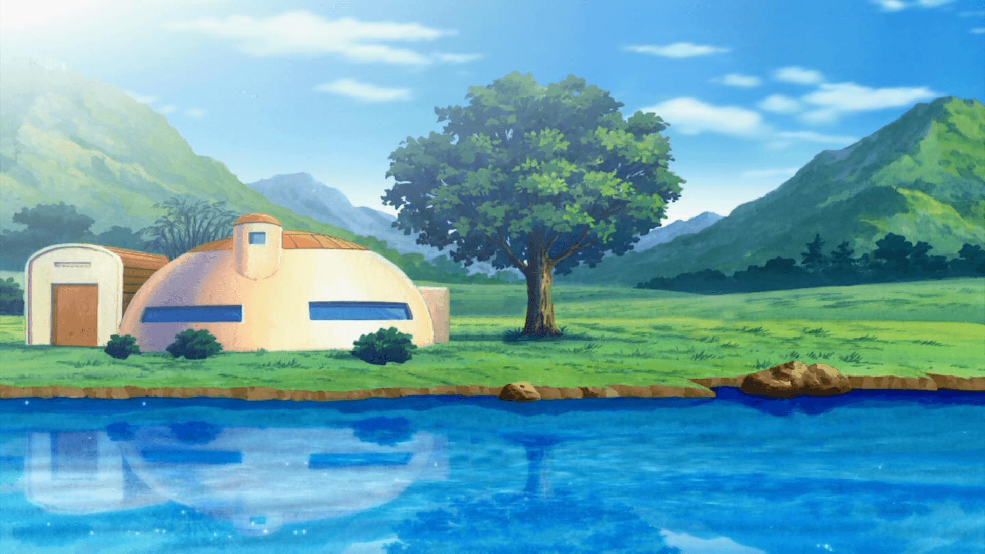 Dragon Ball Z Scenery Wallpapers Top Free Dragon Ball Z