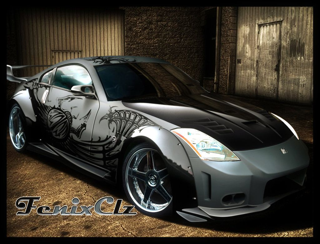 Nissan 350Z Tokyo Drift Wallpapers