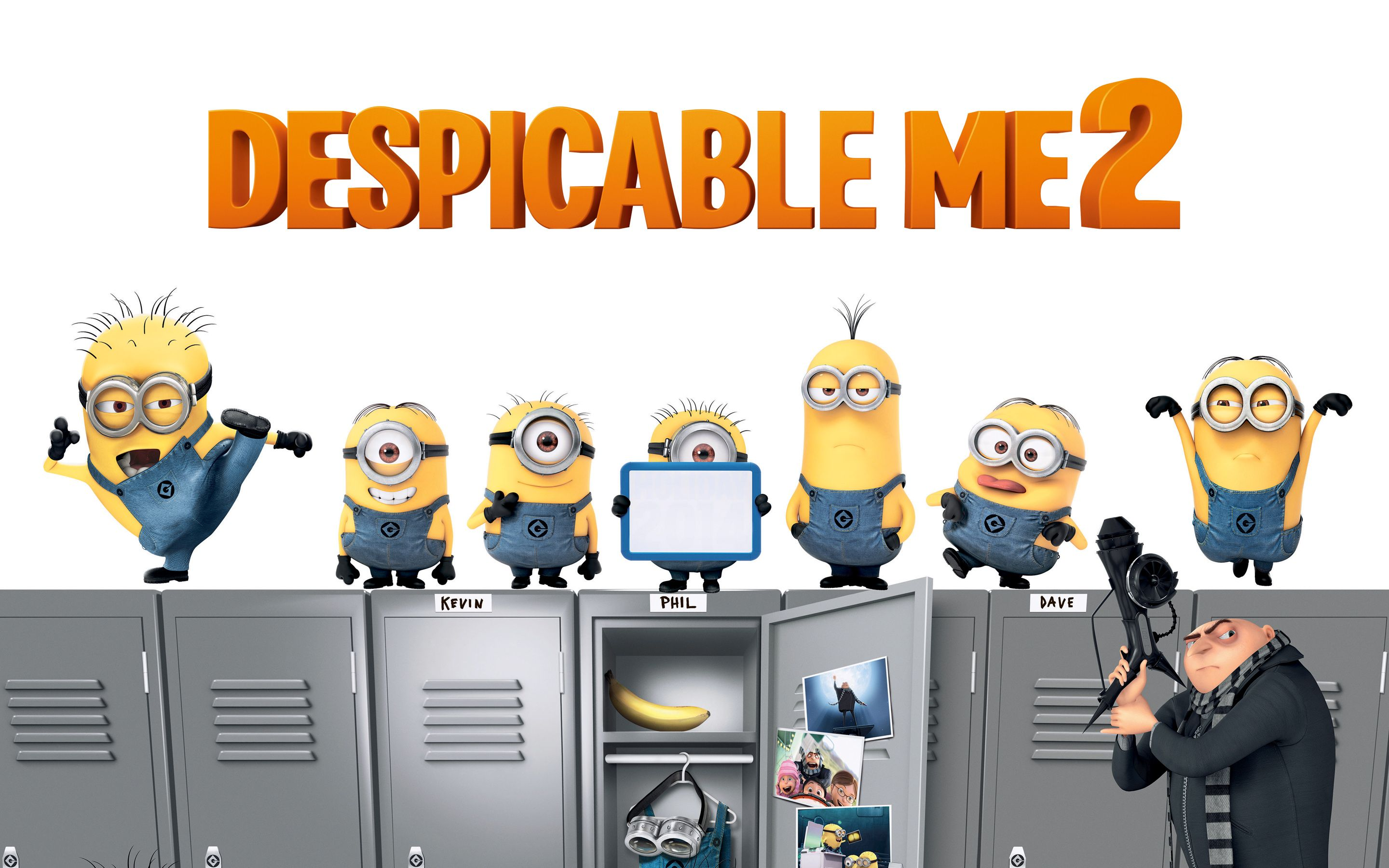 Despicable me 2 free movies.