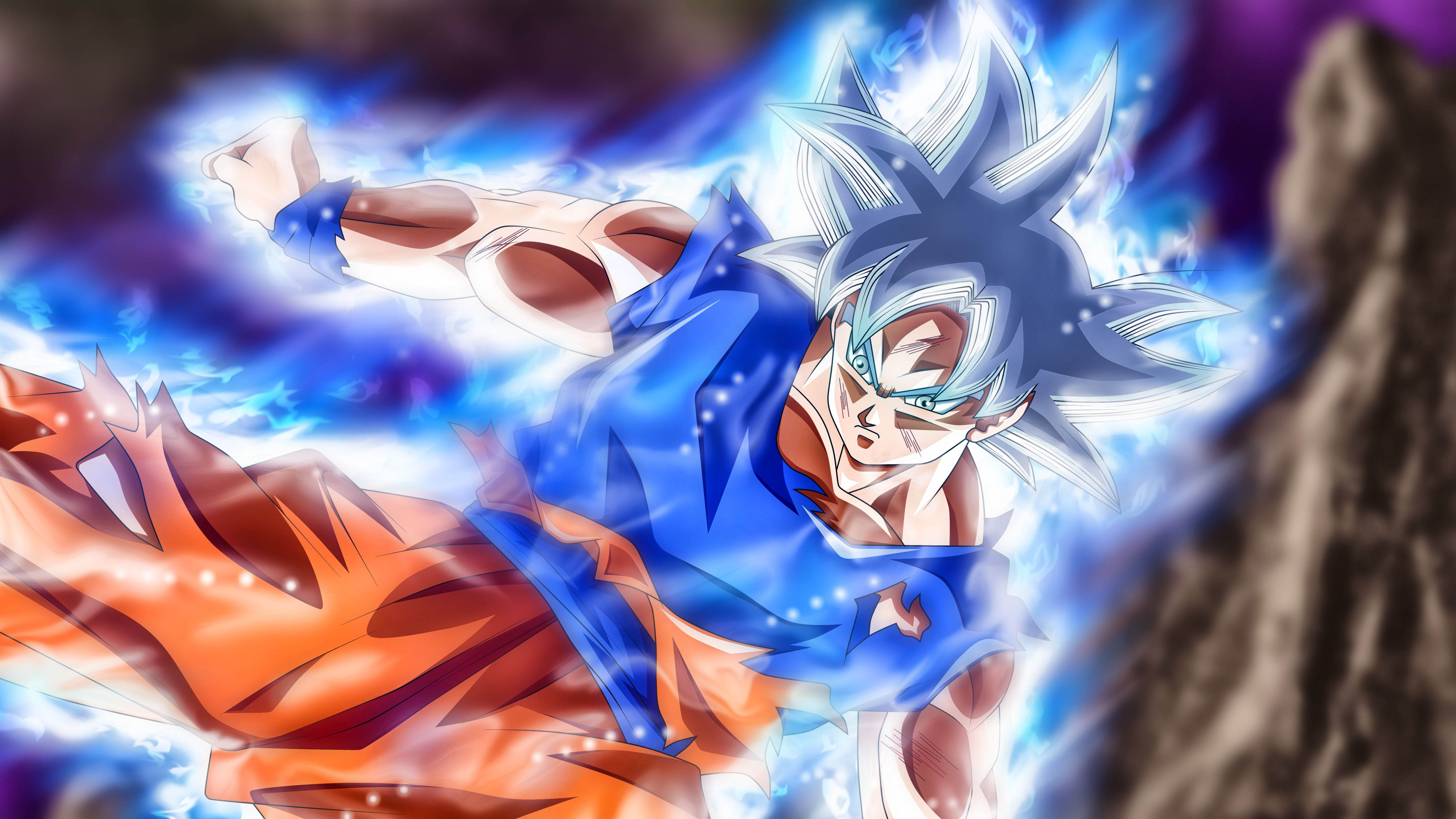 Ultra Instinct Goku Wallpapers Top Free Ultra Instinct Goku