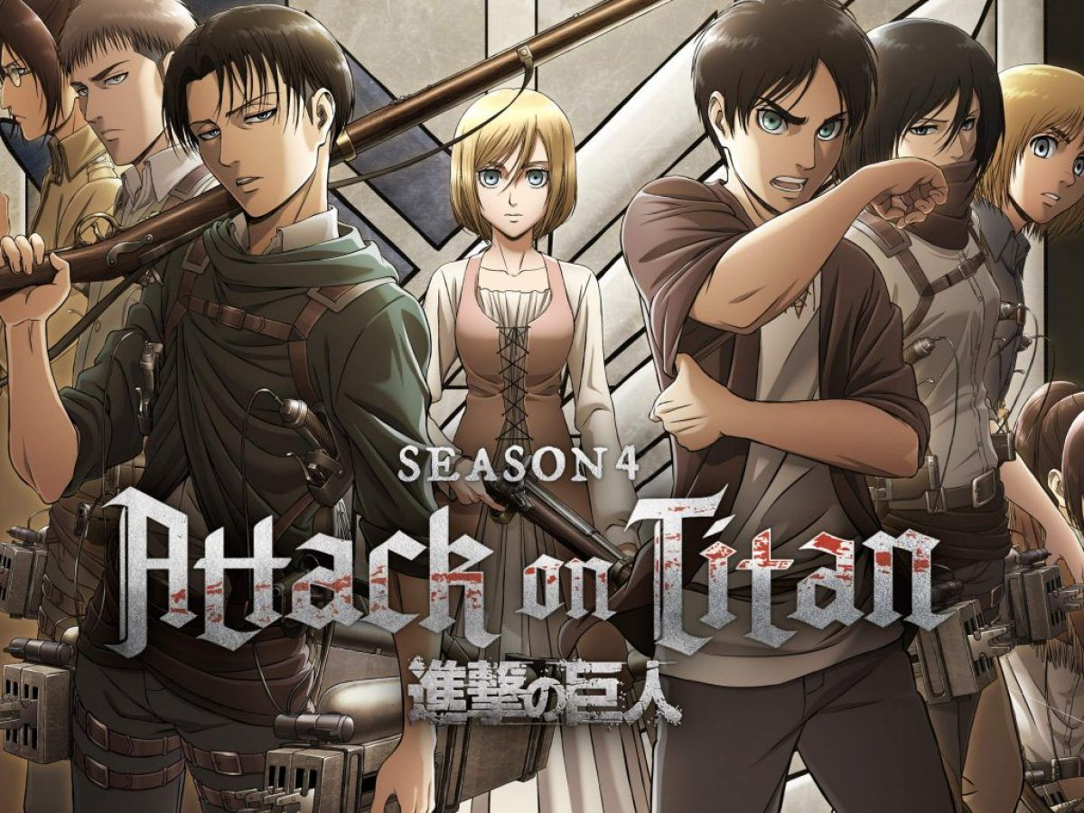 Attack On Titan Season 4 Wallpapers Top Free Attack On Titan Season 4 Backgrounds Wallpaperaccess