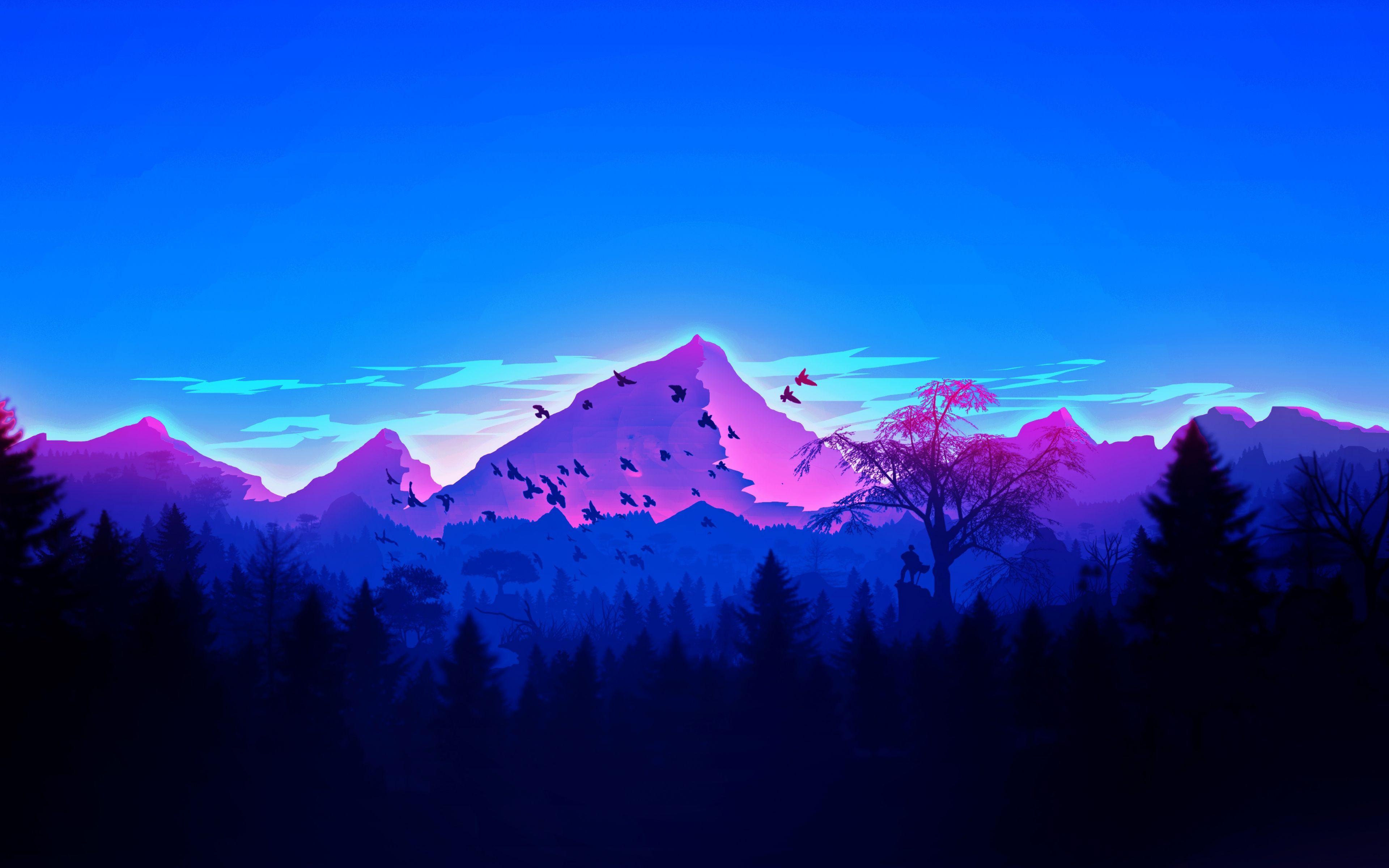 Digital Mountain Wallpapers   Top Free Digital Mountain ...