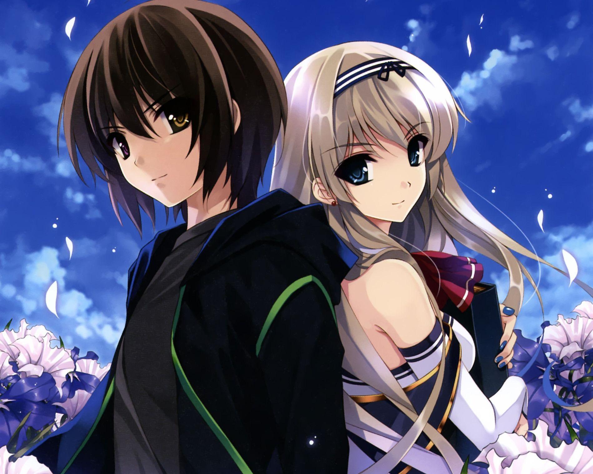Beautiful Anime Couples Wallpapers Top Free Beautiful Anime