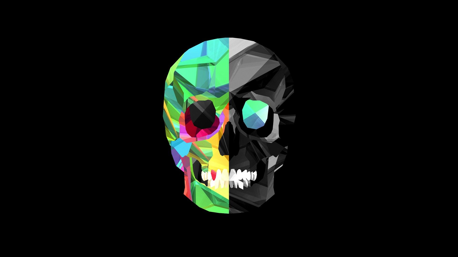 "1920x1080 Colored Skull Art HD Wallpaper Wallpaper | WallpaperLepi"">. Download · 1920x1080 89 Sugar Skull HD Wallpapers ..."
