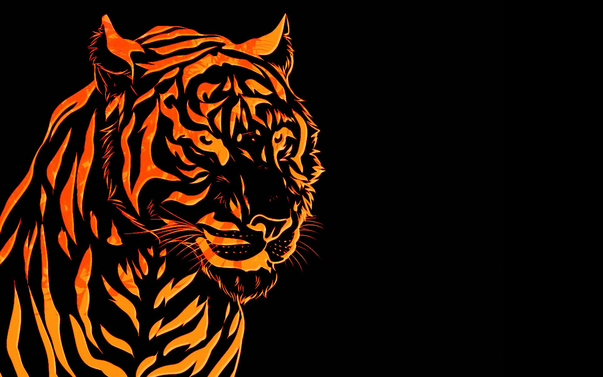 Abstract Tiger Wallpapers Top Free Abstract Tiger Backgrounds