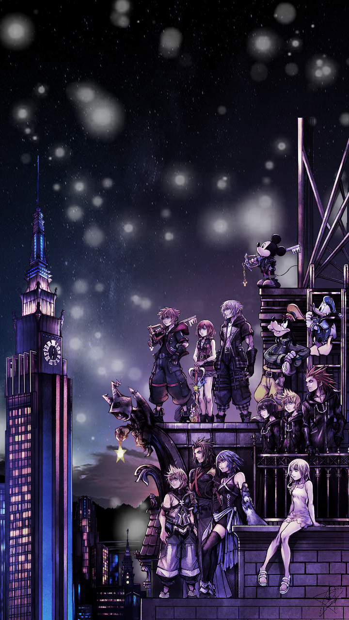 Kingdom Hearts Phone Wallpapers Top Free Kingdom Hearts Phone Backgrounds Wallpaperaccess