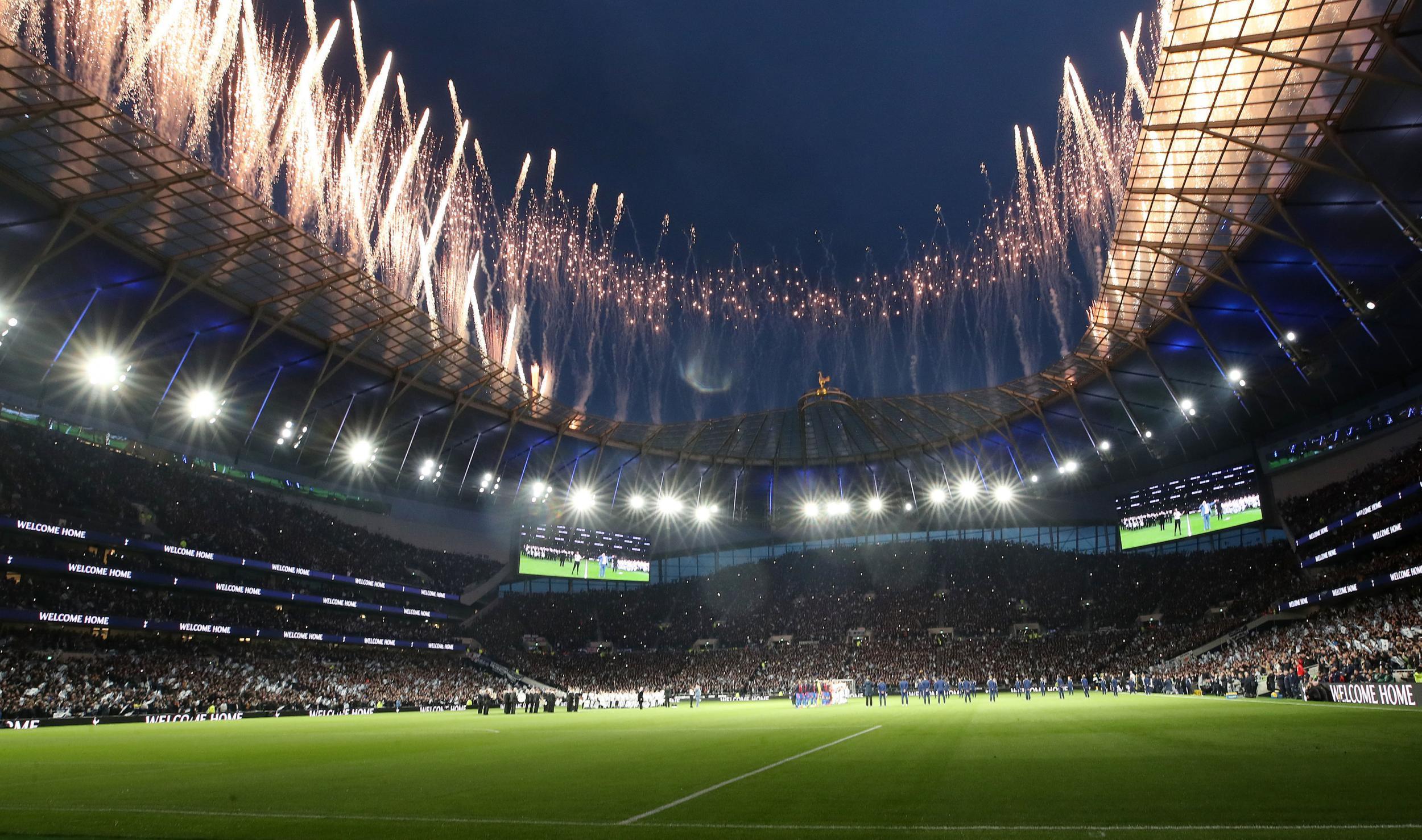 Tottenham Hotspur Stadium Wallpapers Top Free Tottenham Hotspur Stadium Backgrounds Wallpaperaccess
