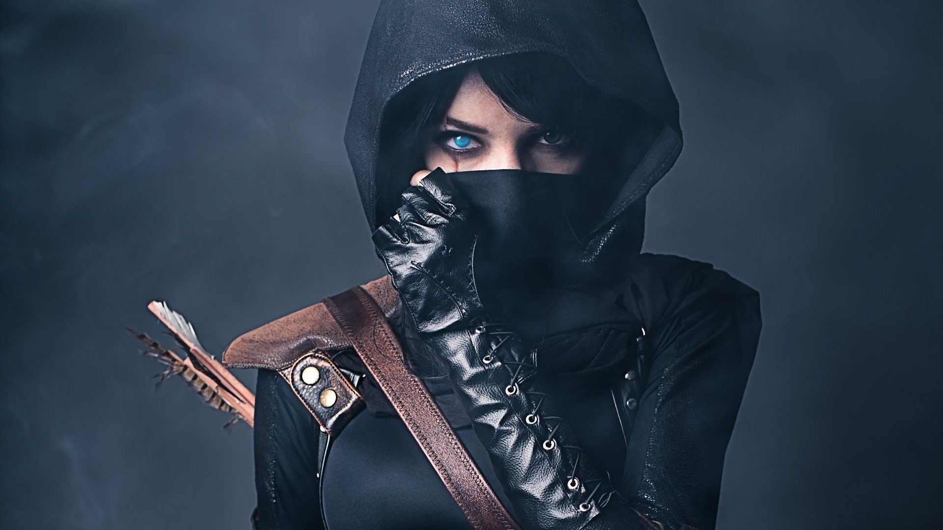 Female Ninja Wallpapers Top Free Female Ninja Backgrounds Wallpaperaccess