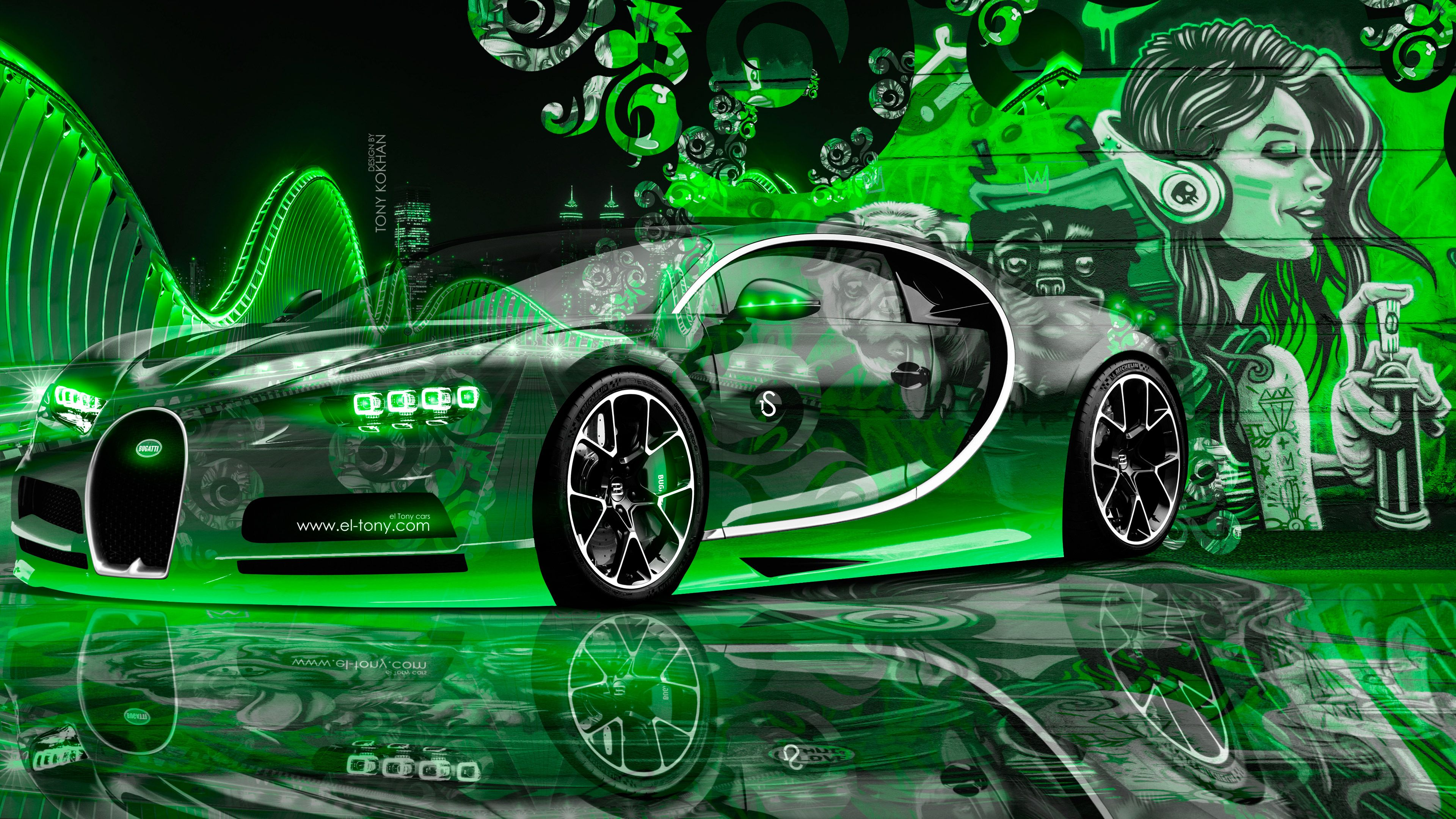 Neon Bugatti Wallpapers - Top Free Neon Bugatti Backgrounds - WallpaperAccess