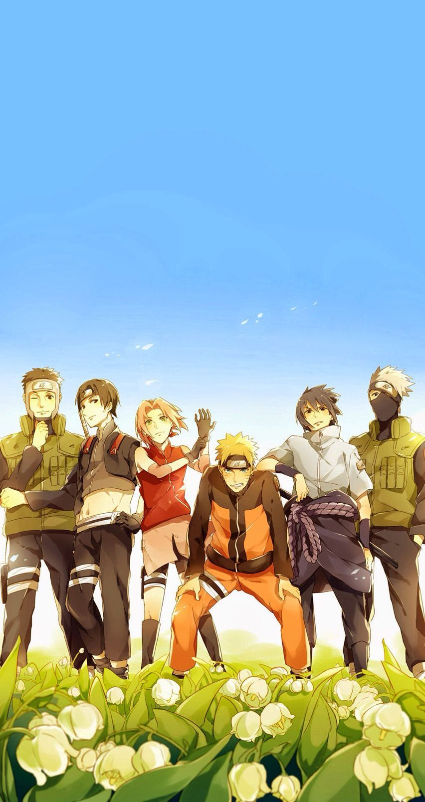 Team 7 Naruto Iphone Wallpapers Top Free Team 7 Naruto Iphone Backgrounds Wallpaperaccess