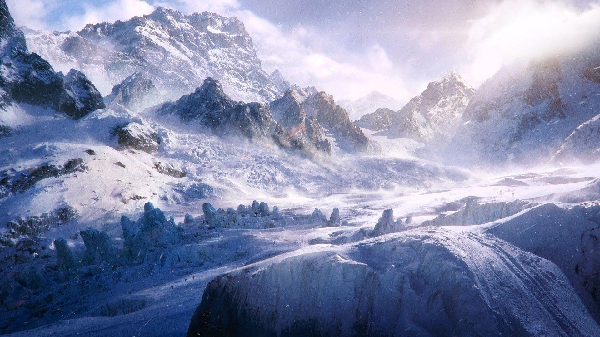 1920x1080 1080p HD hình nền núi