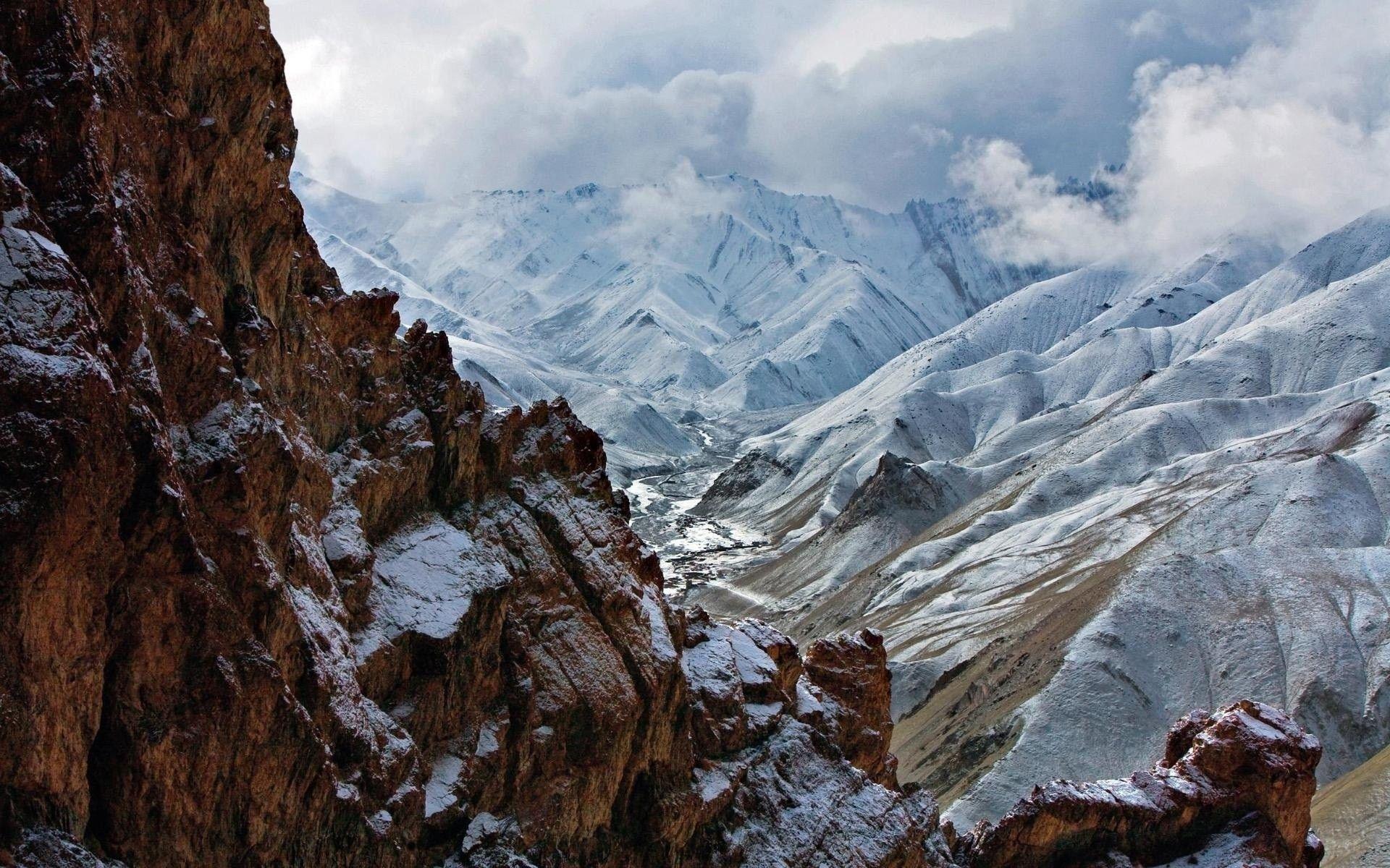 Ảnh HD về núi 1920x1200.  Tải xuống hình ảnh hình nền các nhà ga trên đồi