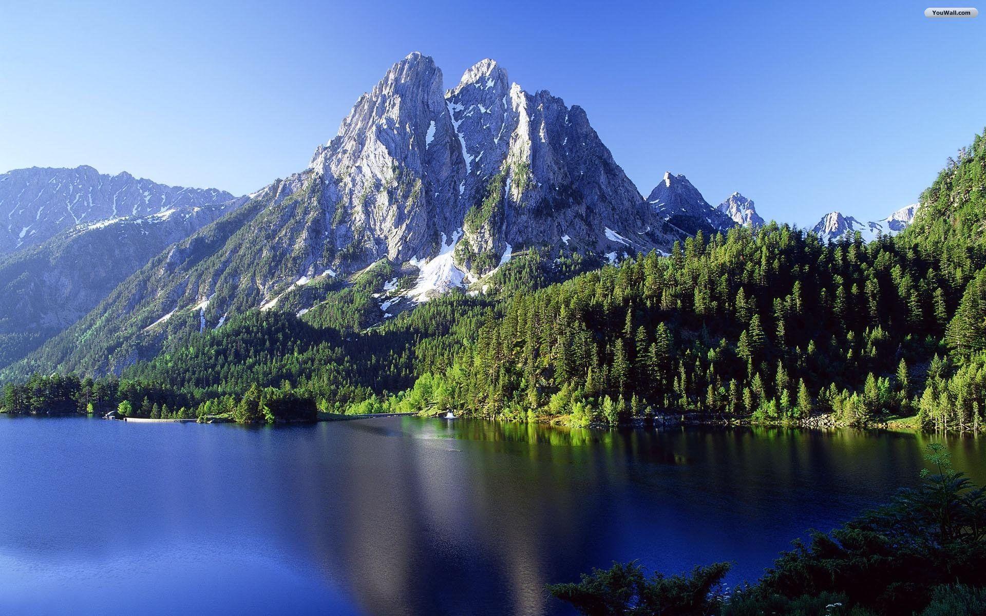 1920x1200 Hình nền núi đẹp Hình nền HD