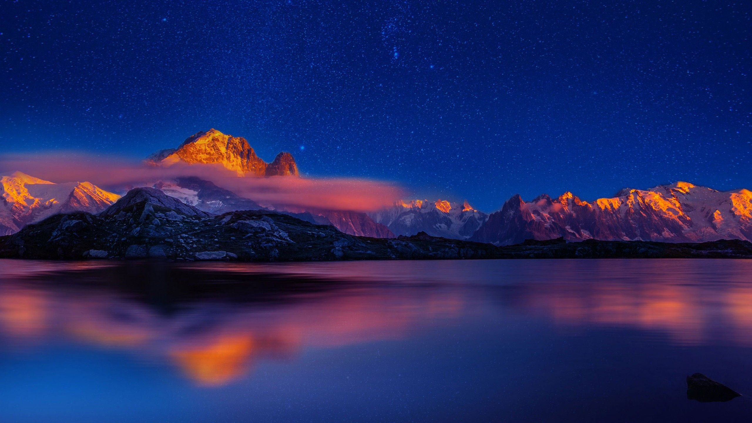2560x1440 Dãy núi hình nền, Huawei P9, Cổ phần, độ phân giải cao, Thiên nhiên