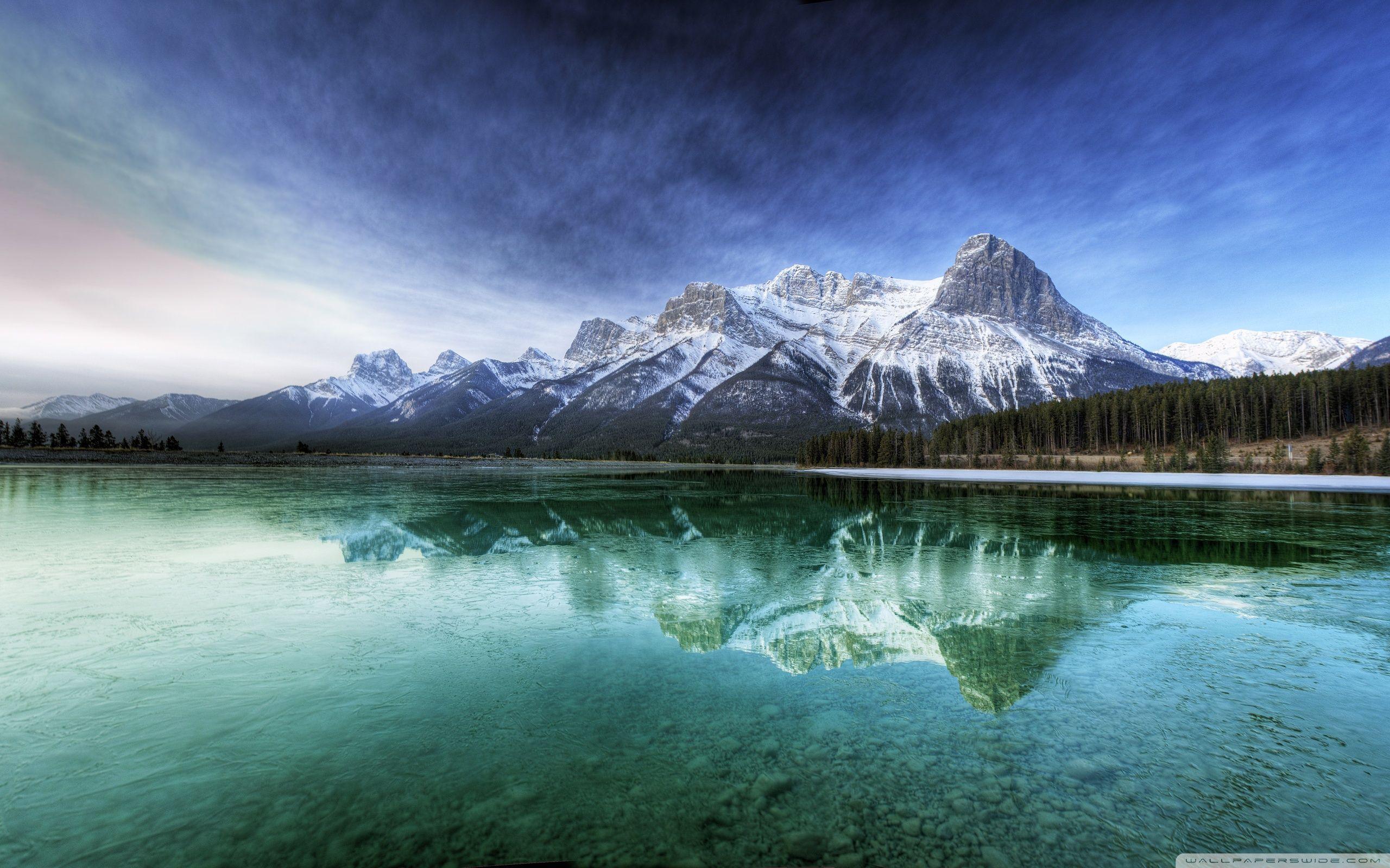 Phong cảnh hồ núi 2560x1600 ❤ Hình nền máy tính để bàn 4K HD cho TV Ultra HD 4K
