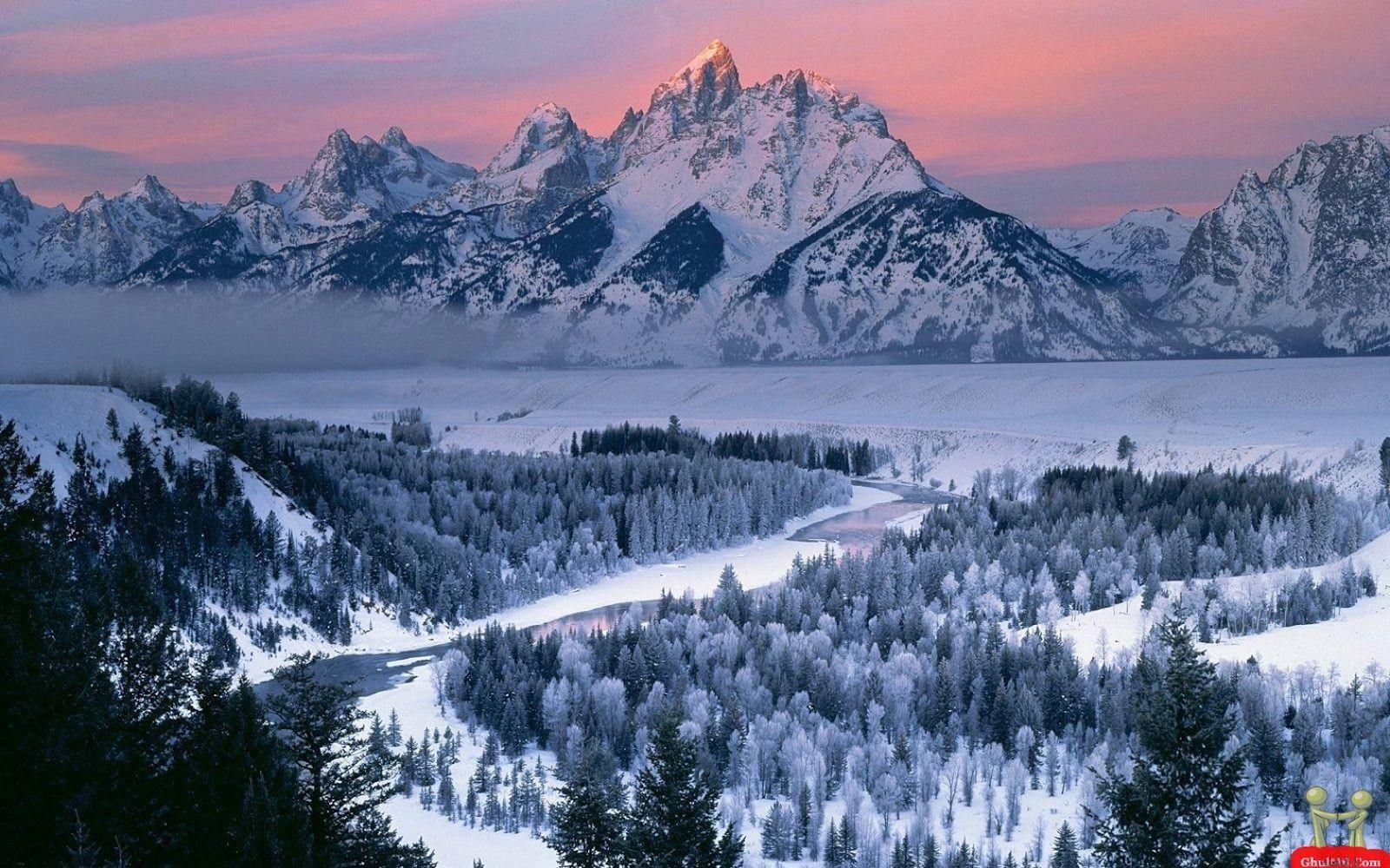 Hình nền dãy núi đẹp nhất 1600x1000 ở độ phân giải cao