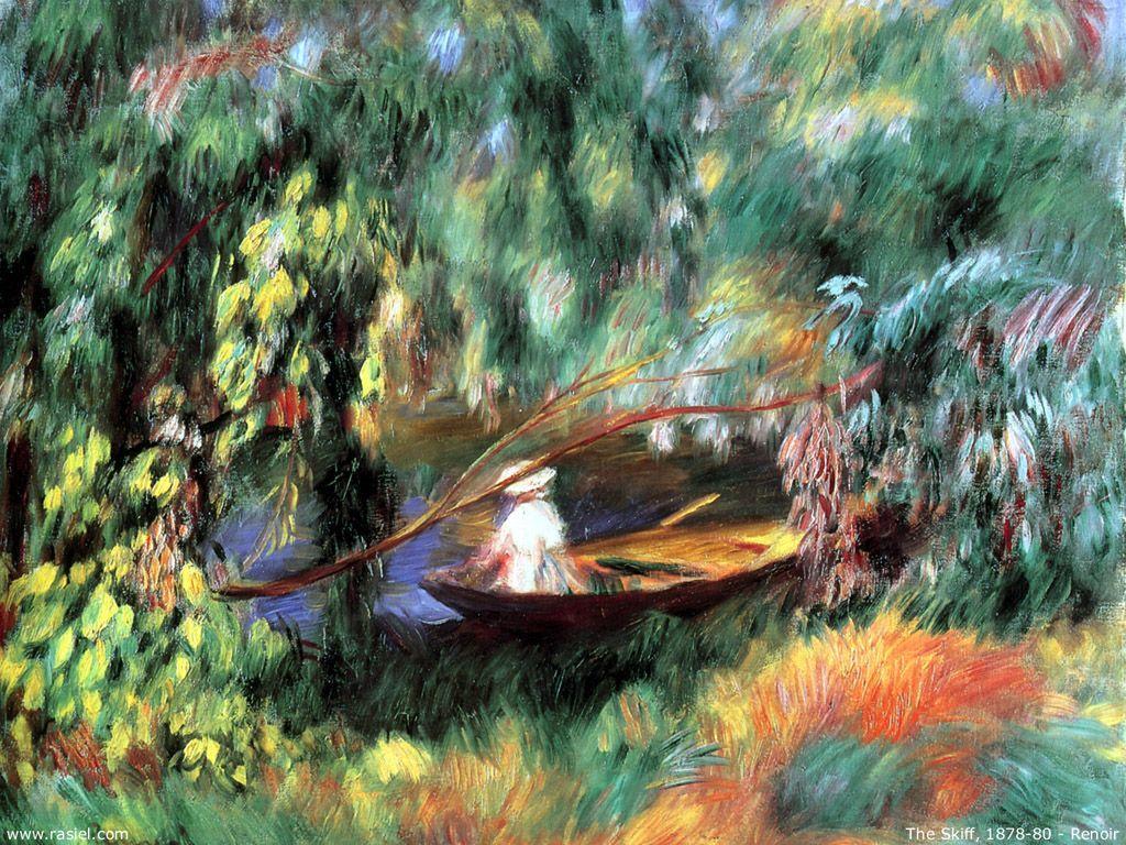 1024x768 Bức tranh Mỹ thuật - Hình nền Pierre Auguste Renoir