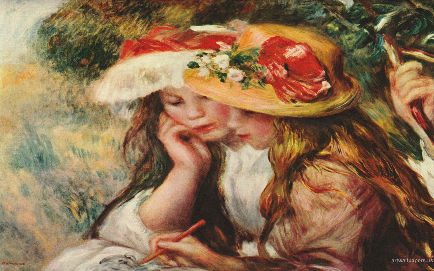 1680x1050 Renoir Pierre Auguste hình nền