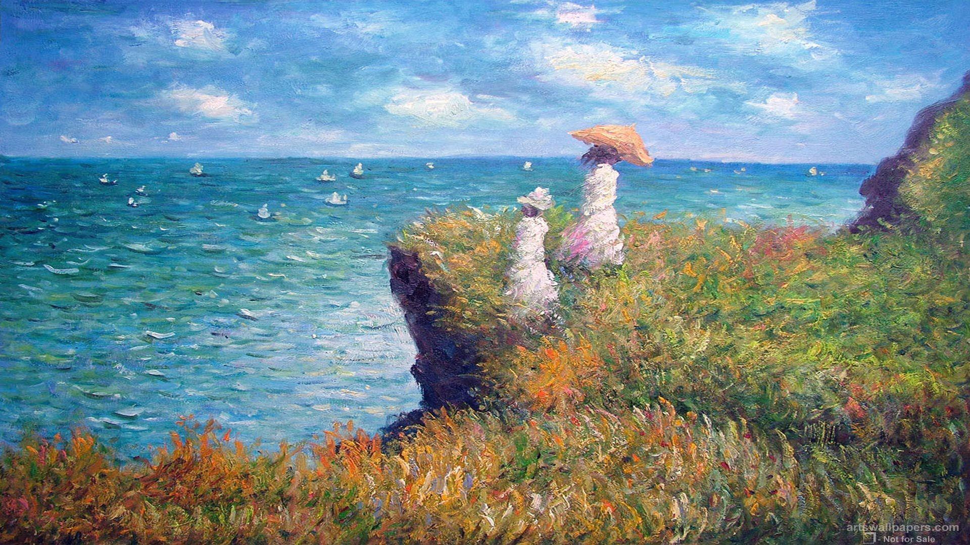 1920x1080 Impressionism hình nền