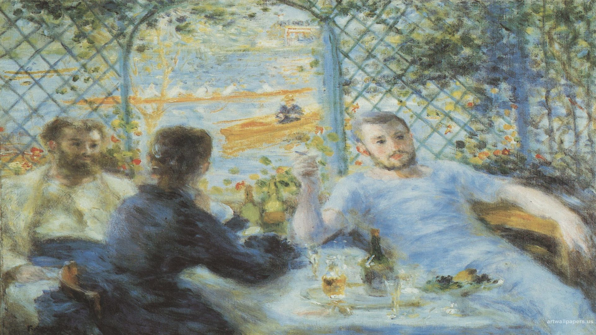 1920x1080 Pierre, auguste, hình nền, cải tạo, nền, màn hình rộng, bức tranh