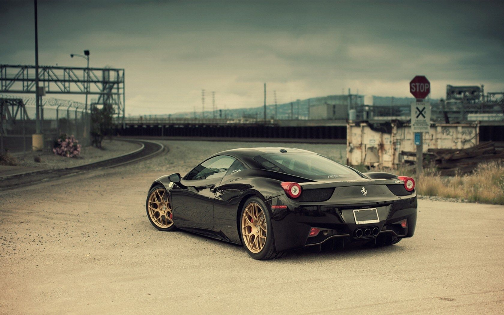 Black Ferrari Wallpapers Top Free Black Ferrari