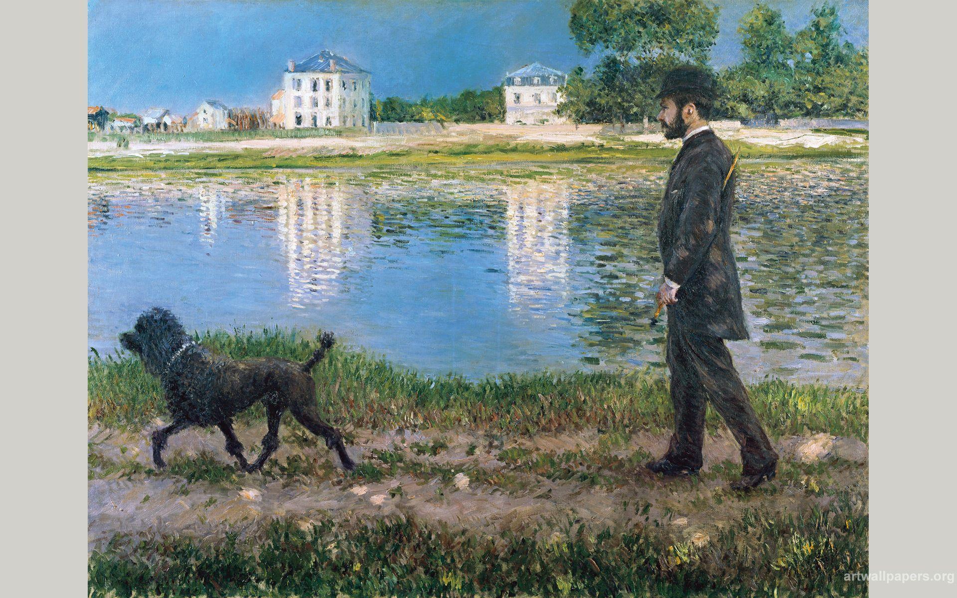 1920x1200 Hình nền Gustave Caillebotte, Hình nền bức tranh nghệ thuật