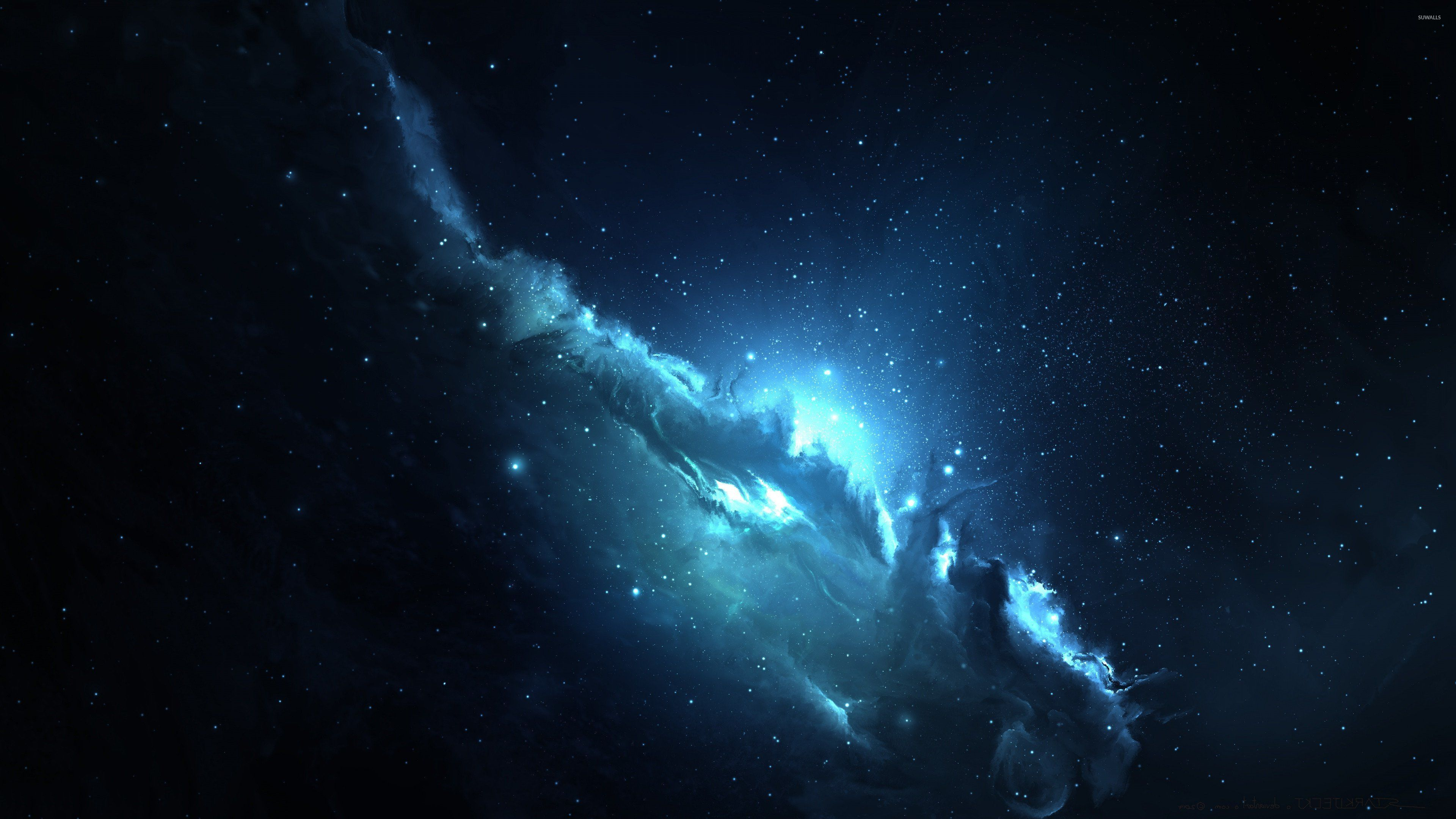 Blue Nebula Wallpapers - Top Free Blue ...