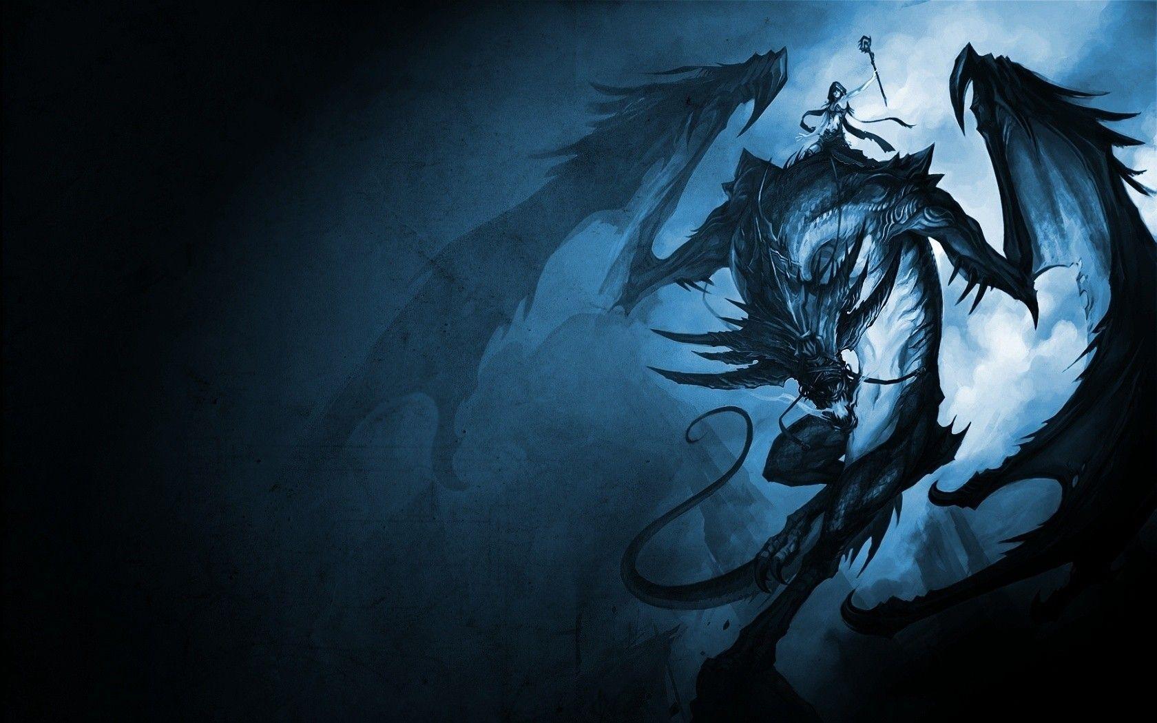 Dark Dragon Wallpapers Top Free Dark Dragon Backgrounds