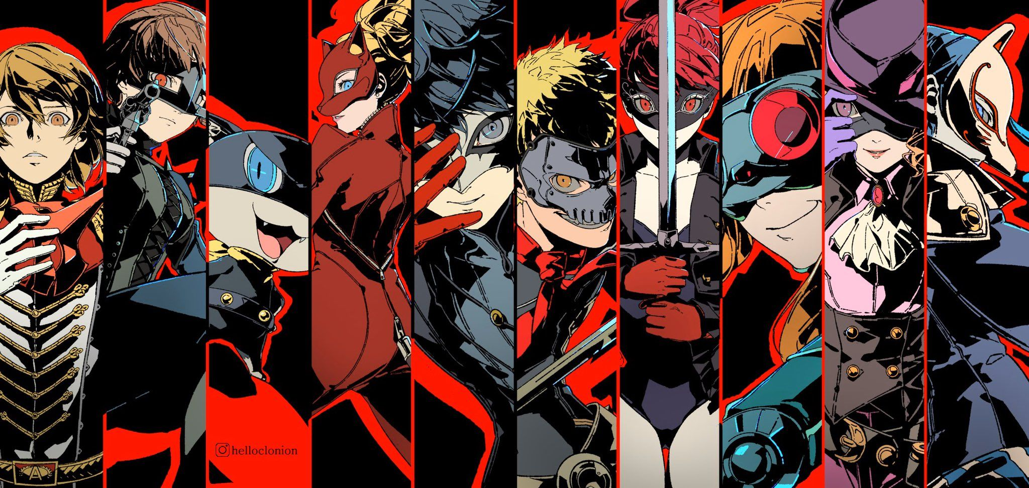 Persona 5 Characters Wallpapers - Top Free Persona 5 ...