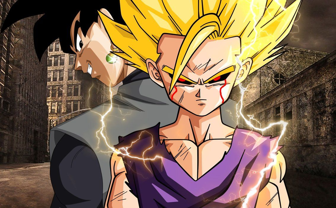 50 best free gohan wallpapers wallpaperaccess - Teen gohan wallpaper ...