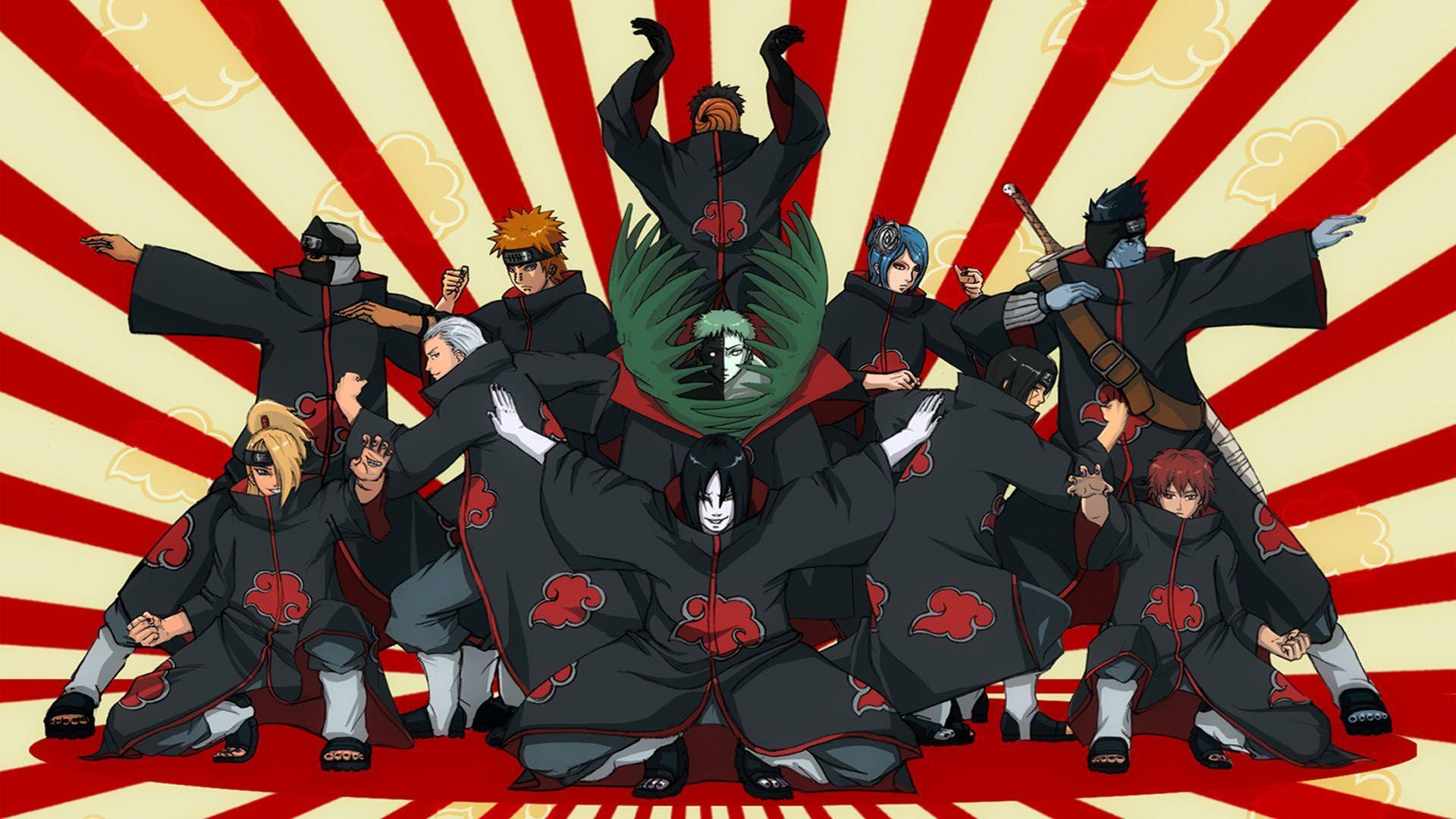 Naruto Akatsuki Wallpapers Top Free Naruto Akatsuki
