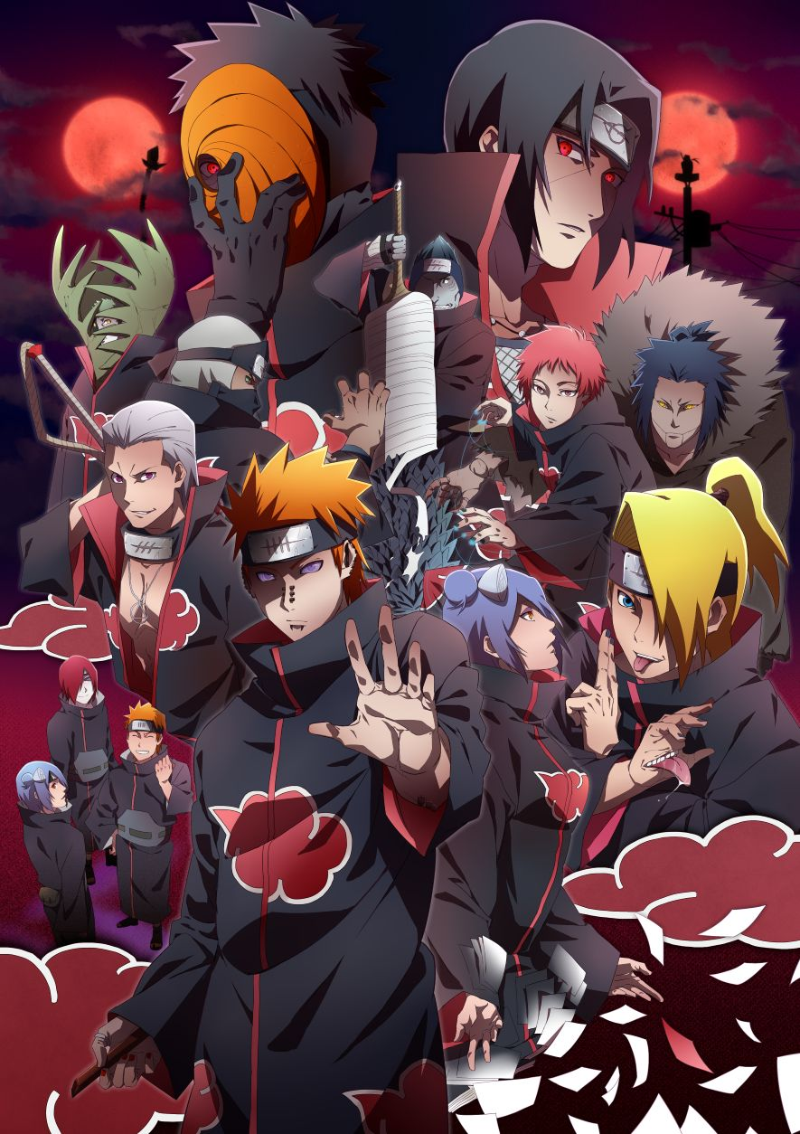 Naruto Akatsuki Wallpapers Top Free Naruto Akatsuki