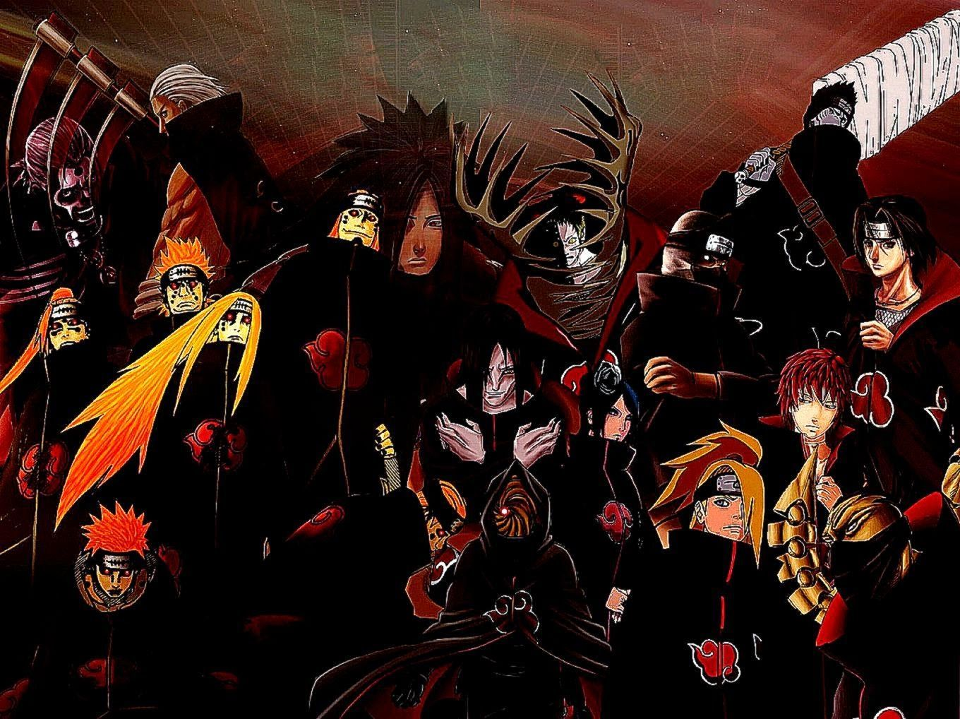 Naruto Akatsuki Wallpapers - Top Free Naruto Akatsuki Backgrounds