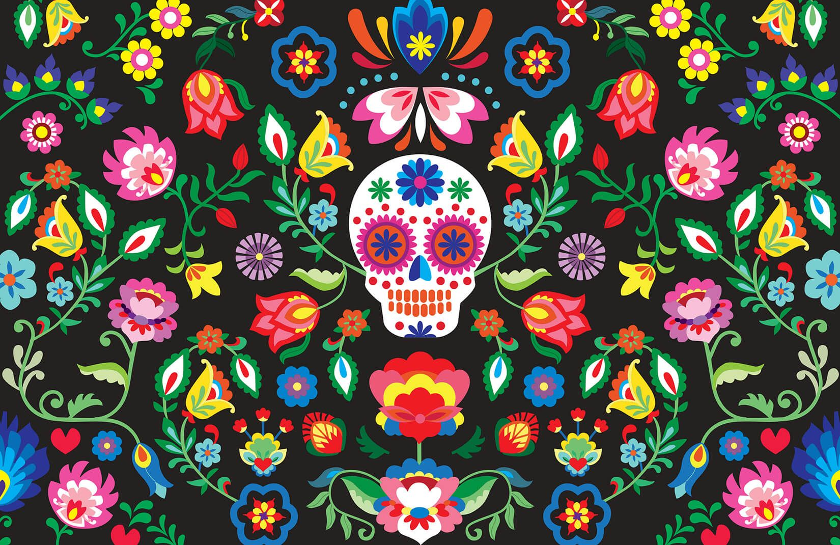 Sugar Skull Wallpapers Top Free Sugar Skull Backgrounds