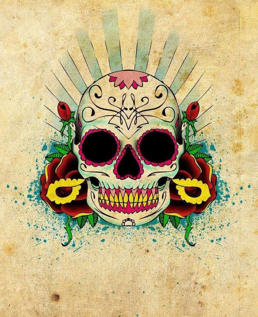Sugar Skull Wallpapers - Top Free Sugar Skull Backgrounds
