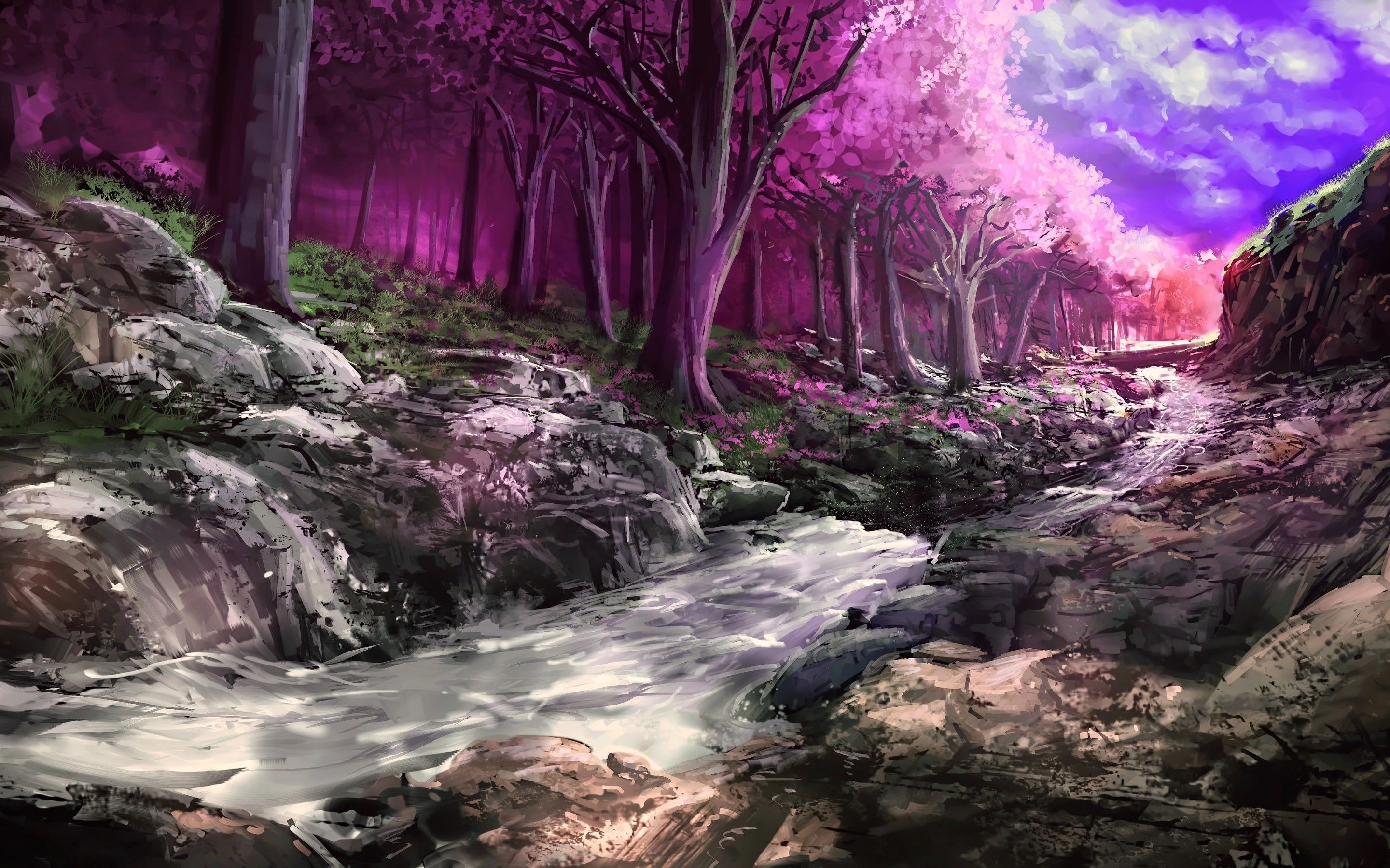 Fantasy Nature Wallpapers Top Free Fantasy Nature Backgrounds Wallpaperaccess
