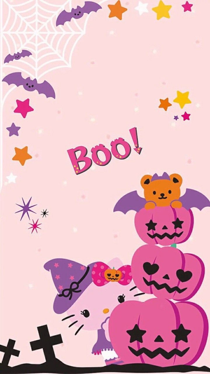 Kawaii Halloween Wallpapers Top Free Kawaii Halloween Backgrounds Wallpaperaccess