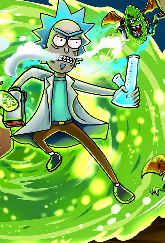 Rick And Morty Portal Wallpapers Top Free Rick And Morty Portal Backgrounds Wallpaperaccess