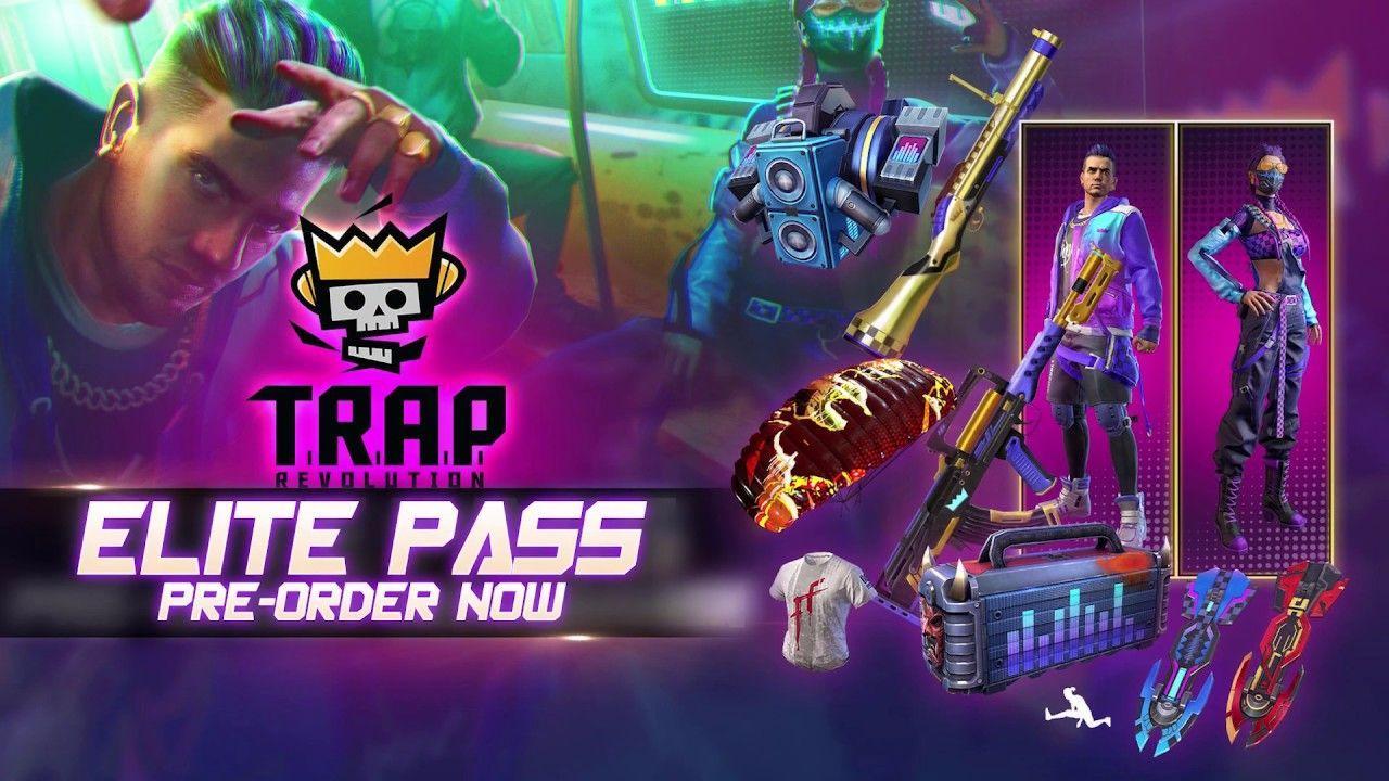 1280x720 Elite Pass TRAP Revolution: Danh sách mặt hàng