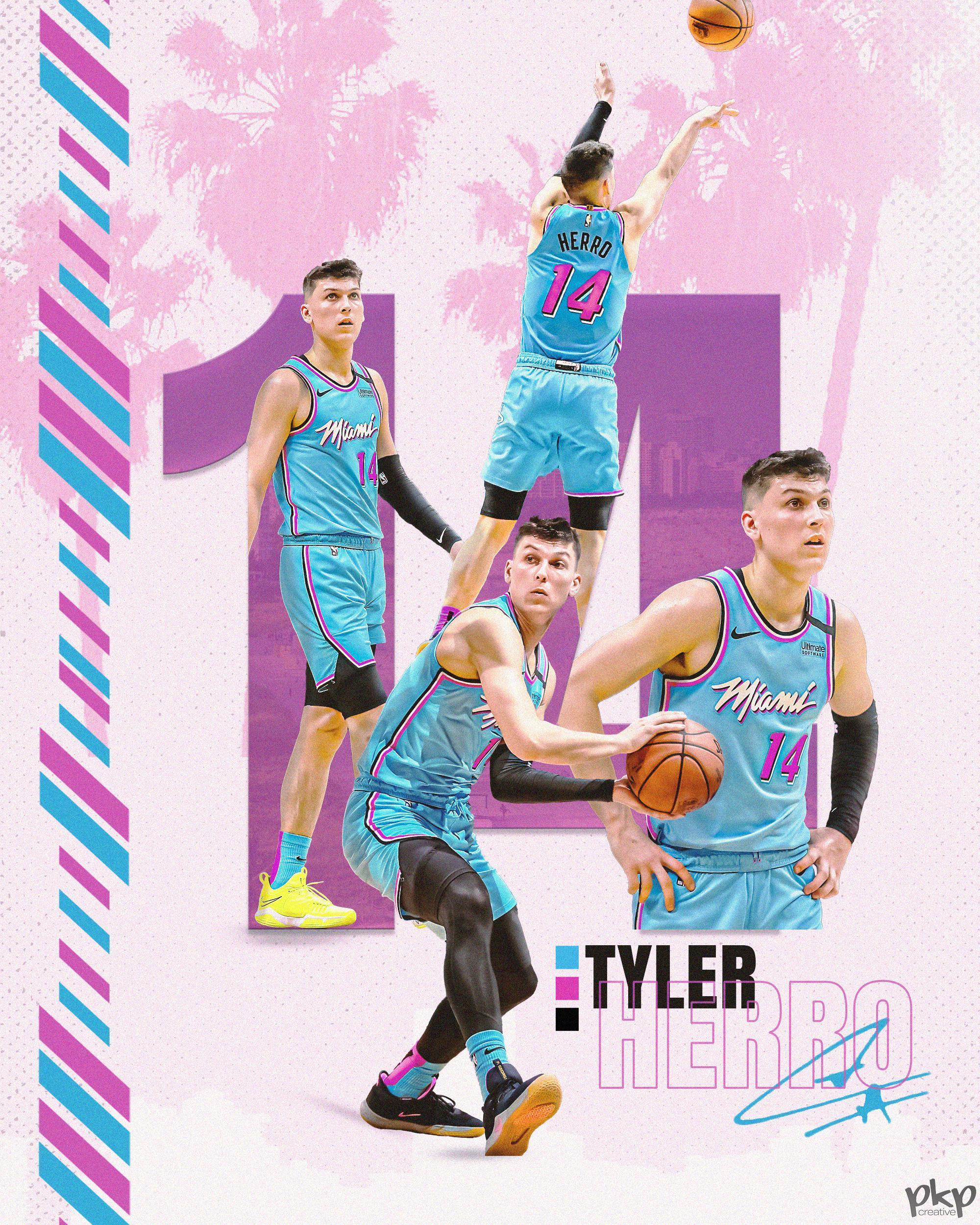 Tyler Herro Wallpapers Top Free Tyler Herro Backgrounds Wallpaperaccess
