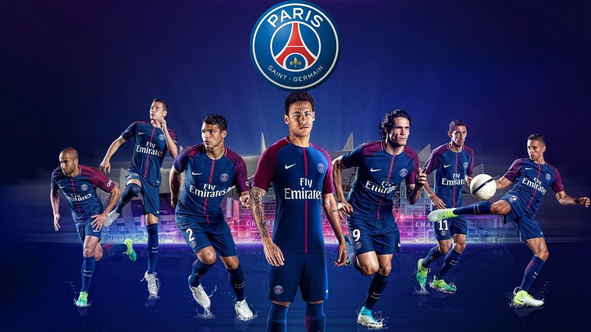 Psg Team Wallpapers Top Free Psg Team Backgrounds Wallpaperaccess