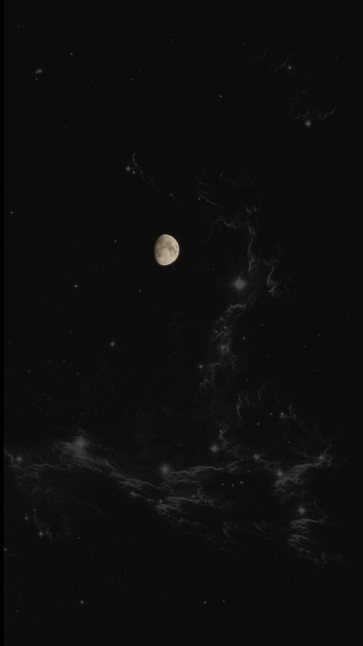 Black Moon And Stars Wallpapers Top Free Black Moon And Stars Backgrounds Wallpaperaccess