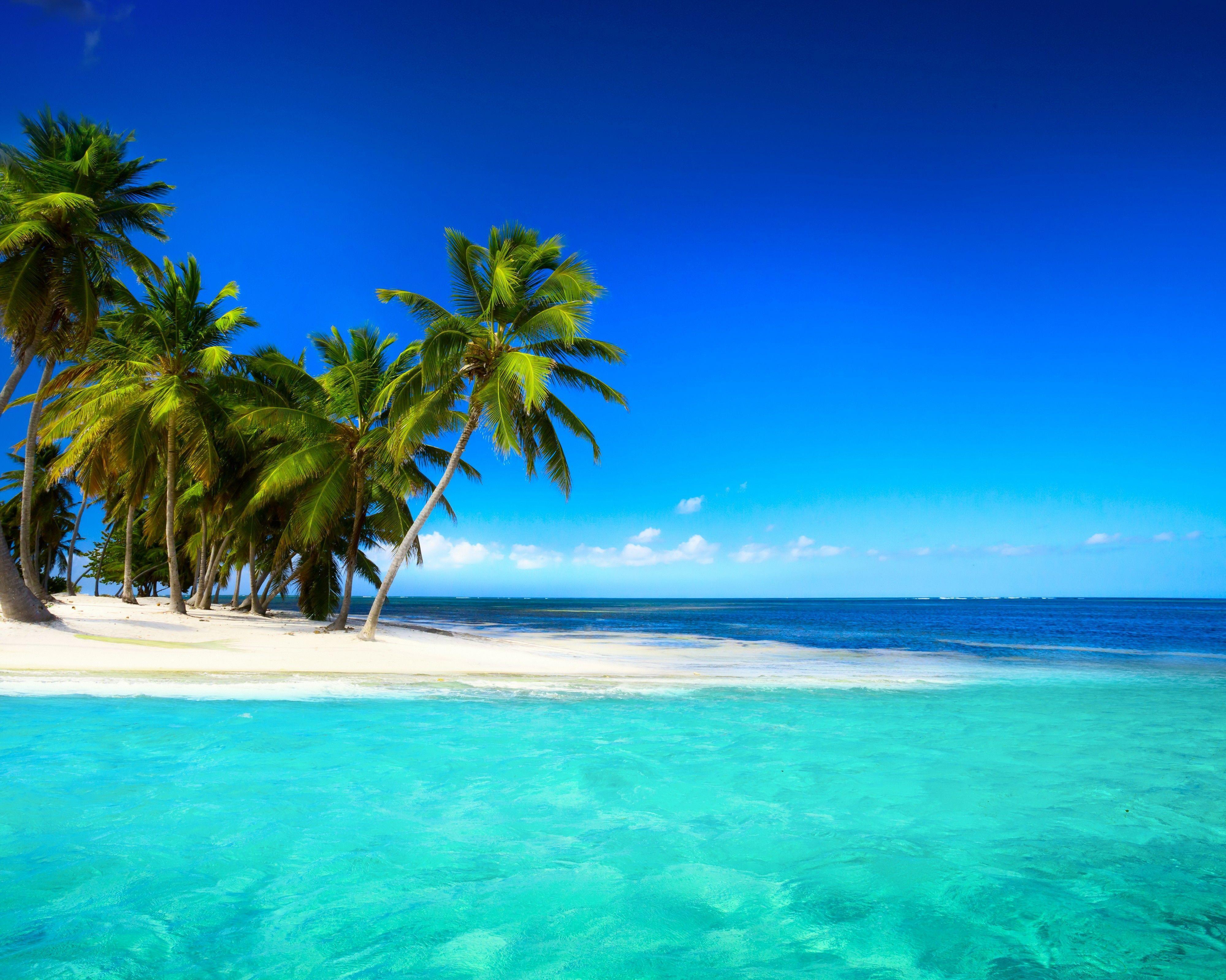 Hình nền bãi biển 4000x3200 Island